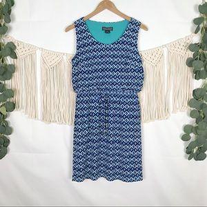 Jessica Howard; Diamond Print Dress, Size 8P